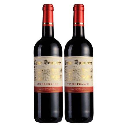 法国勃朗宁古堡干红葡萄酒750ml(双瓶装)