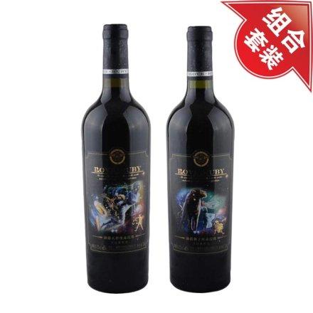 澜爵天秤座+狮子座赤霞珠干红葡萄酒