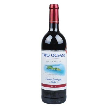南非双洋加本力苏维翁梅洛红葡萄酒