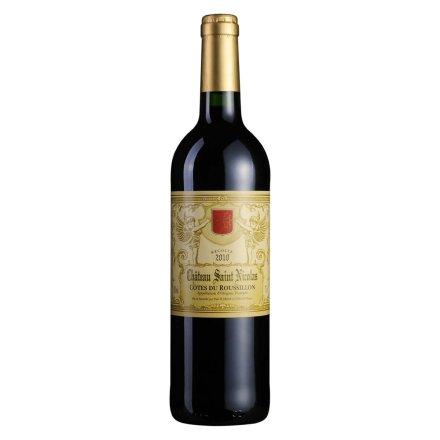 法国圣天使干红葡萄酒750ml