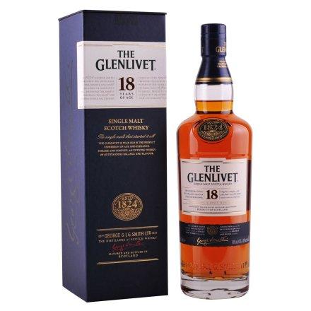 43°格兰威特单一麦芽苏格兰威士忌18年700ml