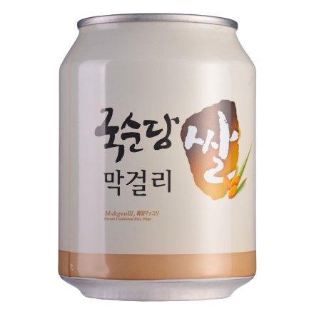 6°韩国麹醇堂碳酸玛克丽酒240ml