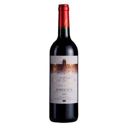 【清仓】法国圣洛克肯特伯爵堡干红葡萄酒