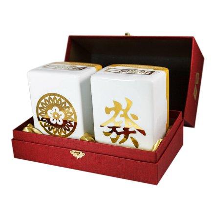 """【清仓】58°一同发财""""筒、發""""礼盒700ml*2"""