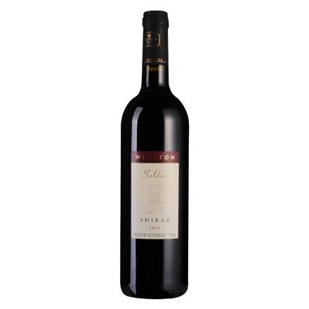 【清仓】澳大利亚威士顿赛尔顿干红葡萄酒750ml