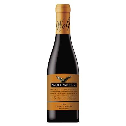 12.5°禾富山谷橡木桶陈酿2013西拉葡萄酒375ml
