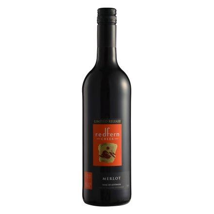 澳大利亚2011红坊溪限量发行美乐半干红葡萄酒750ml