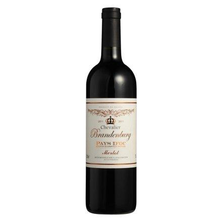 法国勃兰登堡骑士干红葡萄酒750ml