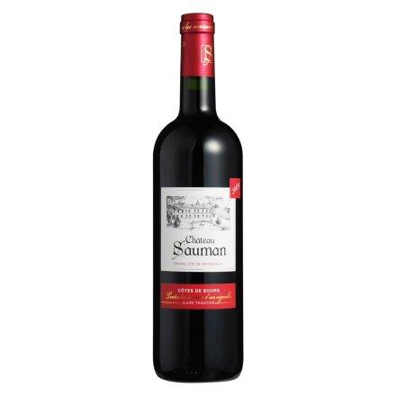 【清仓】法国索曼城堡传统干红葡萄酒750ml