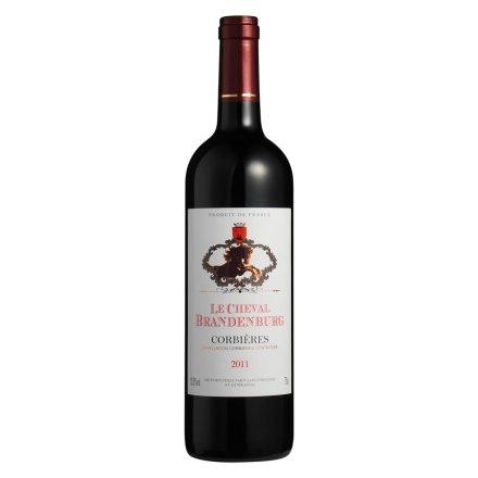 【清仓】法国勃兰登堡骏马干红葡萄酒750ml