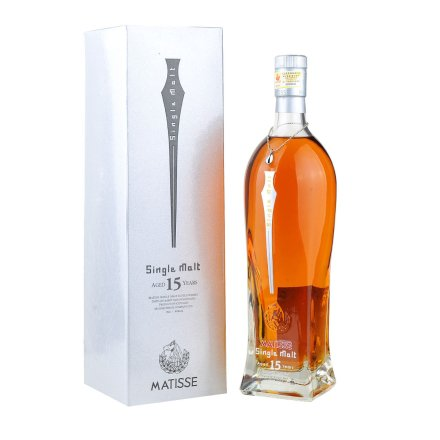 40°英国马谛氏15年单一纯麦苏格兰威士忌700ml