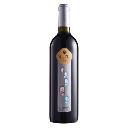 雪诺曼(脚印篇)赤霞珠干红葡萄酒750ml