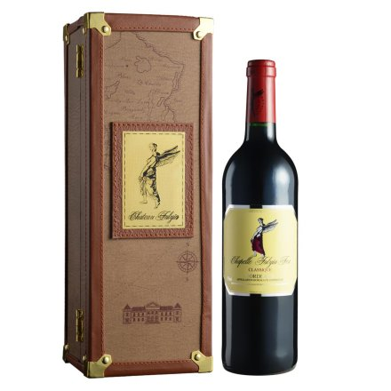 法莱雅酒庄F04红葡萄酒单支皮盒(AOC)