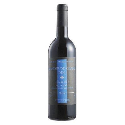 【清仓】法国公爵庄园之歌海娜干红葡萄酒750ml