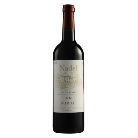 【清仓】法国纳德-美乐干红葡萄酒750ml