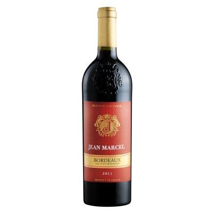 【清仓】法国马萨尔红金波尔多干红葡萄酒750ml