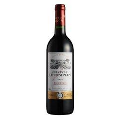 法国杜隆波尔多产区坦普雷古堡干红葡萄酒2010 750ml