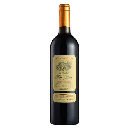 法国奥比尔城堡波尔多AOC典藏干红葡萄酒750ml