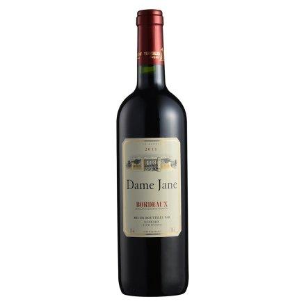 法国杜隆波尔多产区圣母简古堡干红葡萄酒2011 750ml