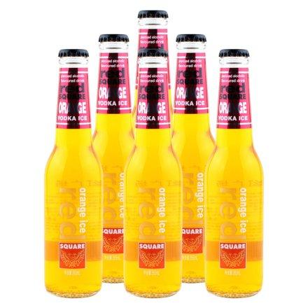 5.1°红广场橙冰预调酒橙味265ml(6瓶装)