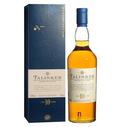 (清仓)45.8°泰斯卡10年单一麦芽苏格兰威士忌700ml