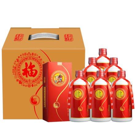 53°茅台镇同乐春福酒500ml(6瓶装)