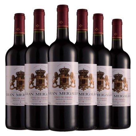 西班牙2012年魅力之尊干红葡萄酒750ml(6瓶装)