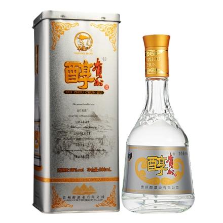 【清仓】38°贵州醇老贵(2014款)山水铁贵500ml