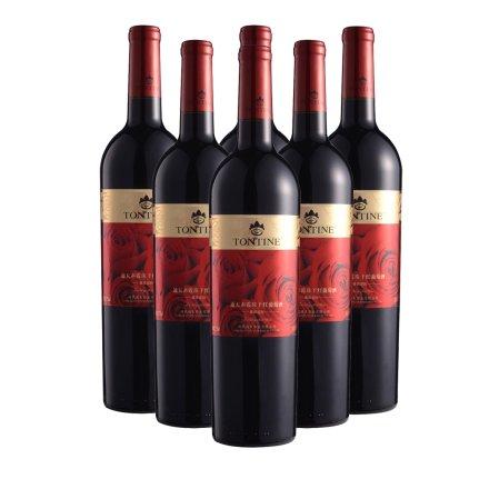 12.5°中国通天赤霞珠干红葡萄酒750ml(6瓶装)