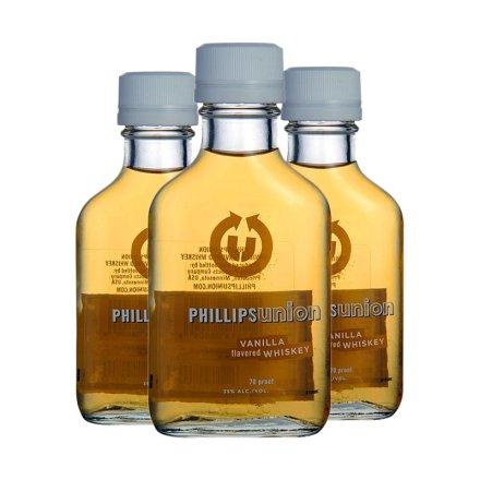35°菲利普斯香草威士忌(小)100ml(3瓶装)