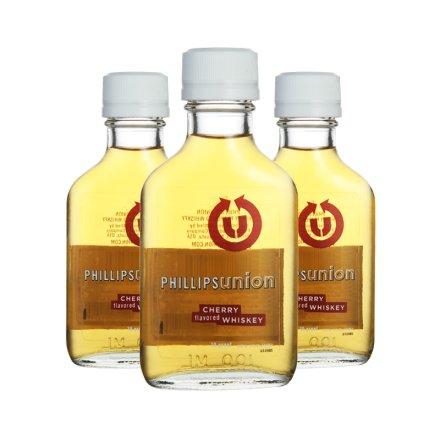 35°菲利普斯樱桃味威士忌(小)100ml(3瓶装)