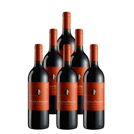 澳大利亚小企鹅西拉红葡萄酒(6瓶装)