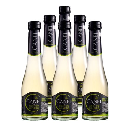 【清仓】意大利圣霞多肯爱低泡白葡萄酒200ml(6瓶装)