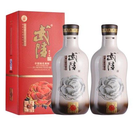 【清仓】52°武陵芙蓉国色6 500ml(2瓶装)