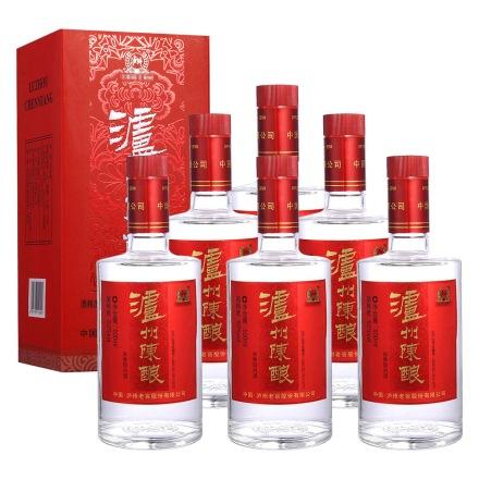 52°泸州陈酿新红盒升级版500ml(6瓶装)