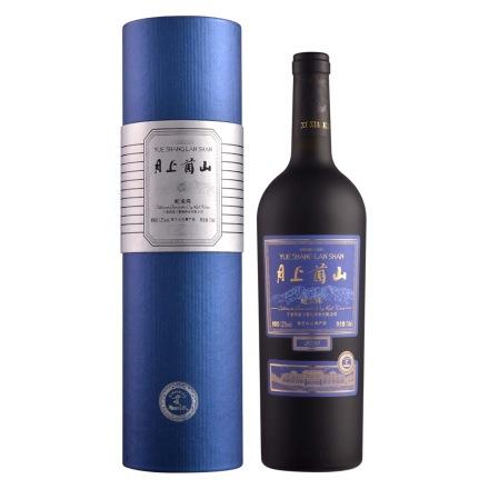 月上兰山2010蛇龙珠(蓝筒)干红葡萄酒750ml