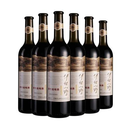 7°伊村山野蓝莓果酒750ml(6瓶装)