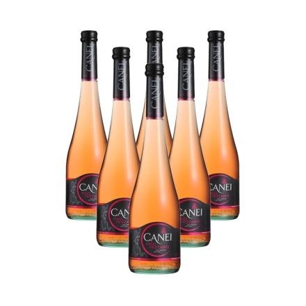 意大利圣霞多肯爱玫瑰红低泡葡萄酒(6瓶装)