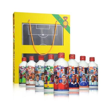 53°厚工坊酒·2014世界杯热门球队礼盒(套餐C)100ml*8