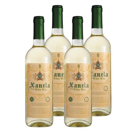西班牙圣内拉半甜白葡萄酒(4瓶装)