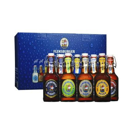 德国弗伦斯堡啤酒—八支装礼盒(330ml*8)