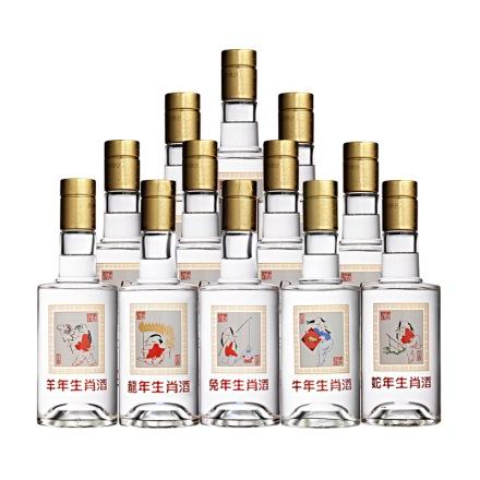 52°藏羚羊生肖酒300ml(12瓶装)