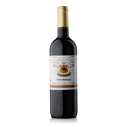 【清仓】法国格拉芙干红葡萄酒750ml