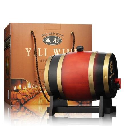 中国益利赤霞珠木桶装干红葡萄酒2000ml