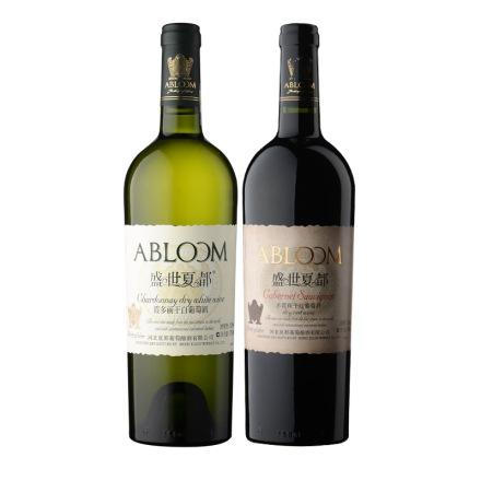 盛世夏都霞多丽干白葡萄酒750ml+盛世夏都赤霞珠干红葡萄酒750ML