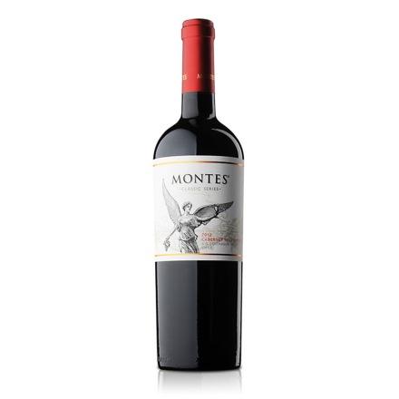 智利蒙特斯经典赤霞珠红葡萄酒750ml