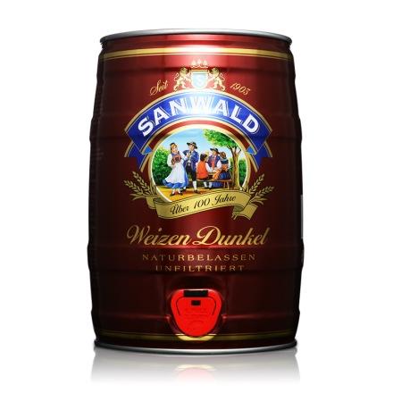 德国斯图加特小麦黑啤5L