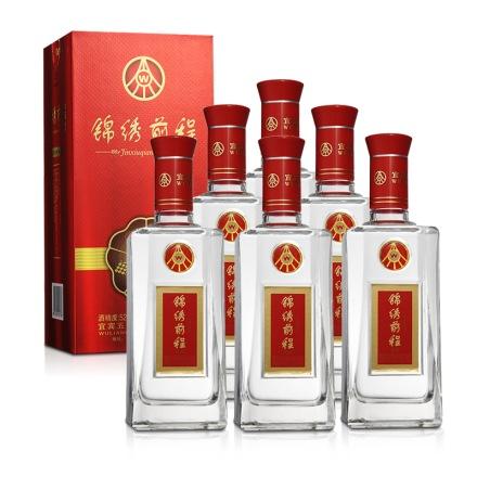 52°五粮液股份公司锦绣前程陈酿酒500ml(6瓶装)