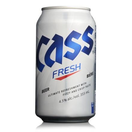 韩国凯狮罐装啤酒355ml
