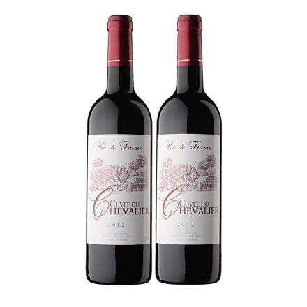 法国古崴骑士红葡萄酒 750ml(双瓶装)
